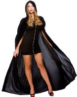 Halloween Cape - Deluxe Black (HF5004)